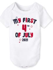 Unisex Baby Americana Graphic Bodysuit