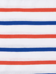 Toddler Boys Striped Top 4-Pack
