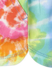 Baby And Toddler Girls Print Twill Pull On Shorts