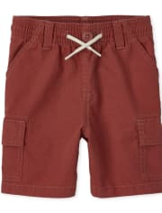Baby And Toddler Boys Pull On Cargo Shorts