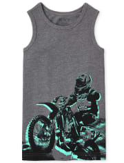 Boys Graphic Tank Top