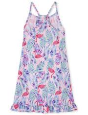 Girls Flamingo Nightgown