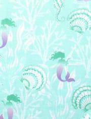 Girls Unicorn Mermaid Snug Fit Cotton Pajamas 2-Pack