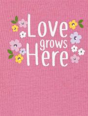 Baby Girls Floral Bodysuit 5-Pack
