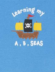 Baby Boys Pirate Bodysuit 5-Pack