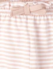 Baby Girls Pineapple Shorts 3-Pack