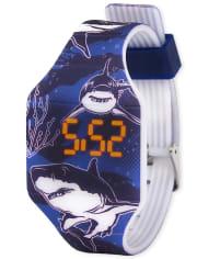 Boys Shark Digital Watch