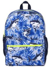 Boys Shark Backpack