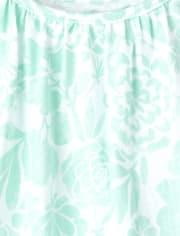 Baby Girls Eyelet Tie Shoulder Bodysuit Dress 3-Pack