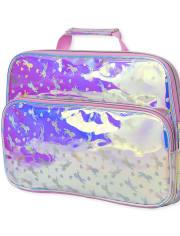 Girls Unicorn Holographic Laptop Case
