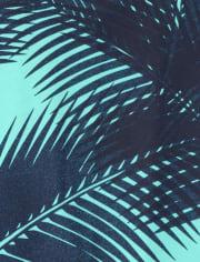 Boys Palm Leaf Tank Top