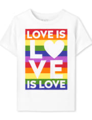 Unisex Baby And Toddler Matching Family Pride Graphic Tee