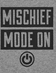 Baby And Toddler Boys Mischief Graphic Tee