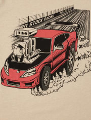 Boys Car Graphic Tee