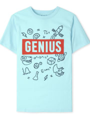 Boys Genius Graphic Tee