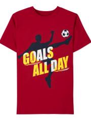 Boys Soccer Graphic Tee