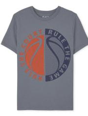Boys Basketball Graphic Tee