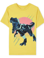 Boys Dino Graphic Tee