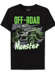 Boys Monster Truck Graphic Tee