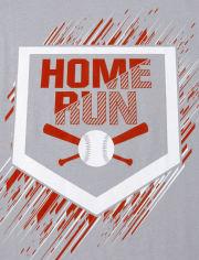 Boys Baseball Graphic Tee 3-Pack