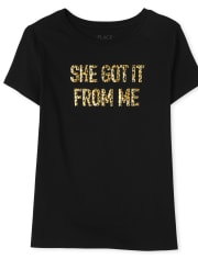 Womens Mommy And Me Got It Graphic Tee
