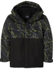 Boys Print 3 In 1 Jacket