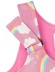 Toddler Girls Print 2-Piece Snow Set