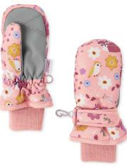 Toddler Girls Unicorn Ski Mittens