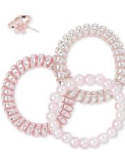 Girls 8-Piece Jewelry Set