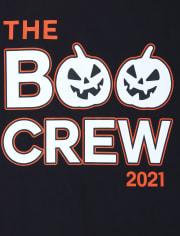 Unisex Adult Glow Boo Crew Cotton Pajamas