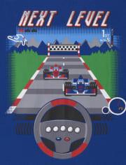 Boys Race Car Snug Fit Cotton Pajamas 2-Pack
