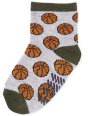 Toddler Boys Sports Midi Socks 6-Pack