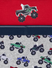 Toddler Boys Transportation Briefs 10-Pack