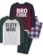 Boys Sloth Bro Pajamas 2-Pack