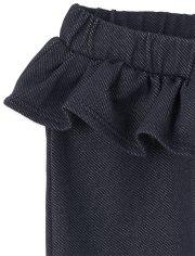 Baby Girls Ruffle Pants 4-Pack