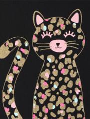 Toddler Girls Leopard Top 2-Pack