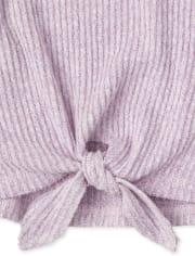 Toddler Girls Floral Tie Front 2-Piece Set