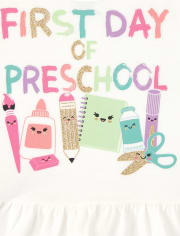 Conjunto de 2 piezas para preescolar para niñas pequeñas