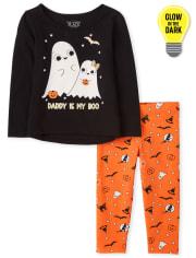 Toddler Girls Halloween 2-Piece Set