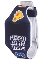 Boys Pizza Digital Watch