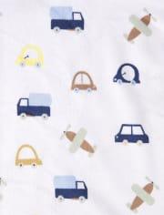Baby Boys Transportation Cozy Blanket