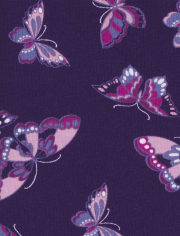 Baby Girls Floral Butterfly Pants 4-Pack
