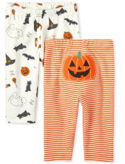 Unisex Baby Halloween Pants 2-Pack