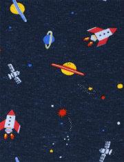 Baby Boys Space Bodysuit 4-Pack
