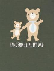 Baby Boys Bear Bodysuit 4-Pack