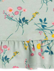 Baby Girls Floral 4-Piece Playwear Set