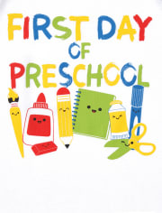 Toddler Boys Preschool 2-Piece Set