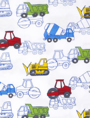 Baby And Toddler Boys Truck Top 3-Pack