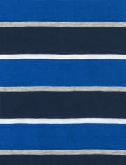 Baby And Toddler Boys Striped Hoodie Top 2-Pack