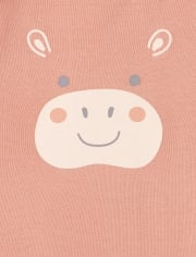 Unisex Baby Animal Bodysuit 4-Pack